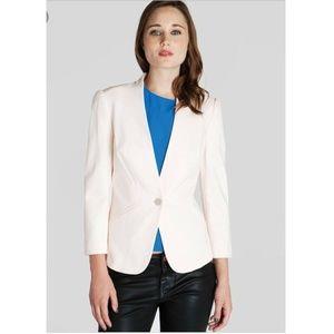 Ted Baker Jacket Blazer Dusty Pale Pink Size 0